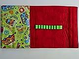 Malmappe/Zeichenmappe für DinA5 Hippie/rot